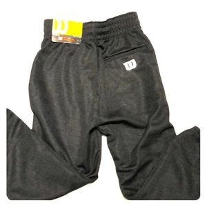 Wilson Black Youth Baseball pants